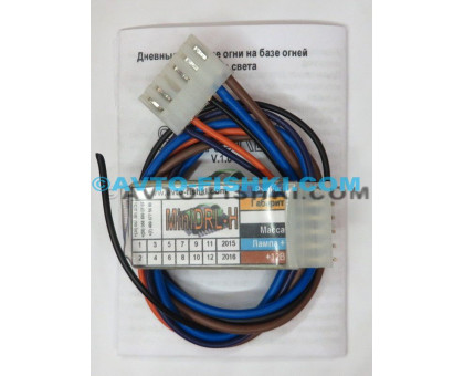 Контроллер MiniDRL, Скандинавский свет, ДХО